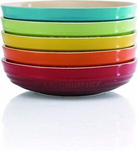 Le Creuset Deep Dish Round Dish 20 cm Rainbow