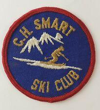 New listing Vintage C.H. Smart Ski Club Patch Downhill Skiing