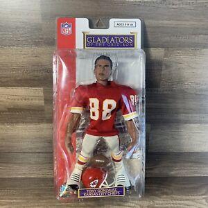 TONY GONZALEZ Kansas City Chiefs NFL GLADIATORS OF THE GRIDIRON Figure NIP