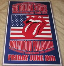 THE ROLLING STONES 1972 NORTH AMERICAN TOUR REPLICA POSTER W/PROTECTIVE SLEEVE