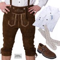 TRACHTENKRACHER! UVP 204,60€! Lederhose, Trachtenhemd, Haferlschuhe und Socken!
