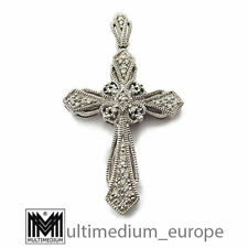 Silber Kreuz Anhänger Diamant 925 sterling silver cross pendant diamond