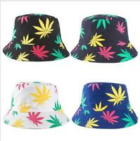 Débardeur Rasta Kush Cannabis Weed Leaf Seau Chapeau Jamaïque Reggae Marijuana Blanc