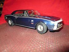 1967 Chevrolet CAMARO 427 1/18 Yenco 67 dark blue lane exact detail LOOSE
