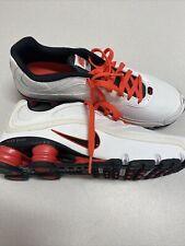 Nike shox turbo 9 Mens Sneakers Shoes Size 10.5 White Shoxs