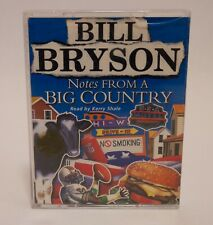 Bill Bryson Notes from a big country cassette