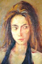 PORTRAIT of the GIRL, O/C signed by Dod Procter