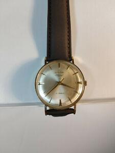 vintage enicar ultrasonic 21 jewels mens wristwatch swiss made 100/149PS