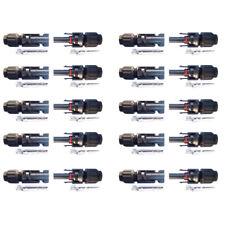 10 Par Enchufes Conectores De Cable Panel Solar De MC4 1000V DC Hombre Y Hembra