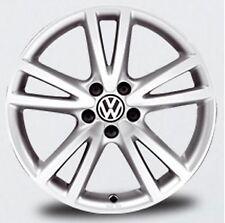 """NEW GENUINE VW GOLF MK6 JETTA SINGLE 17"""" SILVER VISION ACCESSORY ALLOY WHEEL"""