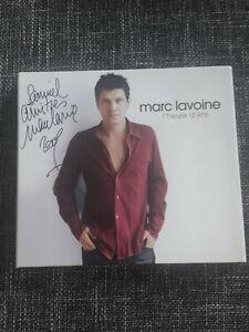 ALBUM MARC LAVOINE  signé !