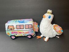 New listing Bark Box Dog Toys Peace & Fluff Woofswaggin Vw Bus & Free Bird Tough Chewer New