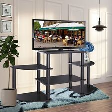 TV Stand Entertainment Center Media Console Storage Cabinet Furniture Home Black