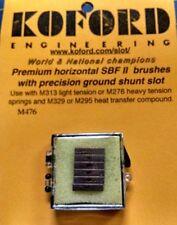 Koford M476 Premium Horizontal SBF II Brushes Slot Car 1/24 Mid America Napervil