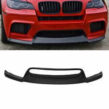 für BMW E71 X6M E70 X5M 10-14 Frontspoilerlippe Frontansatz Matt Schwarz Spoiler