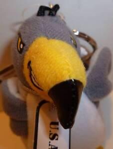 U.S.A.F. Bird Bean Bag & Key Chain! Princess Soft Toy!