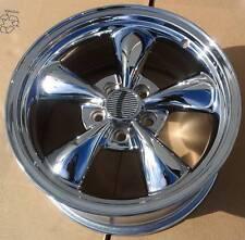 1 ~17x8 Detroit Bullet chrome wheel 5x4.5 Mustang Wheel +30mm
