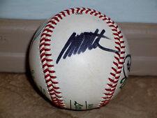 Los Angeles Dodgers Manny Mota Jose Lima Autograhed Signed Baseball