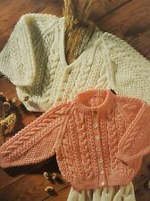 B99 Vintage Tejer patrón para jumpers cardigans /&