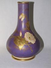 Antique Wedgwood Purple Vellum Bone China Vase ca. 1885