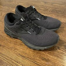Brooks Adrenaline GTS 19 Men's Size 12 Black Running Shoes