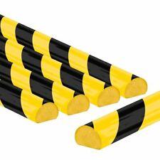 Flächenschutzprofil Typ C, selbstklebend, gelb/schwarz, 1 m, 5 Stück