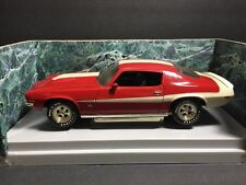 1/18 American Muscle By Ertl 1970 1/2 Baldwin Motion Camaro Red W/ White Stripes