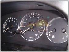 + Mazda Xedos 6 / Xedos 9 Baujahr 92-02 / 3-teilig ALU TACHORINGE TACHO RINGE +