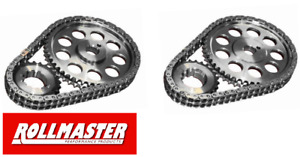 ROLLMASTER DOUBLE ROW TIMING CHAIN KIT TO SUIT HOLDEN 253 304 308 4.2L 5.0L V8