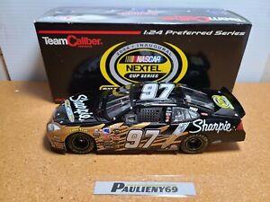2004 Kurt Busch #97 Sharpie Chase For The Cup 1:24 NASCAR Team Caliber MIB