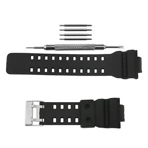 Frosted Silicone Rubber Watch Band Strap Replacement For G-SHOCK GD-110