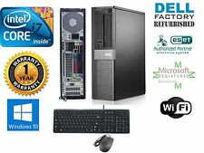 Dell Computer 980 DESKTOP Intel Core I7 870 2.93GHz 4GB 1TB HD Windows 10 HP 32