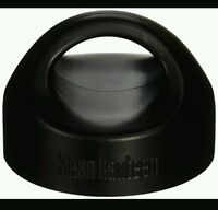 Qty 2 Klean Kanteen Stainless Steel Wide Loop Cap - Black