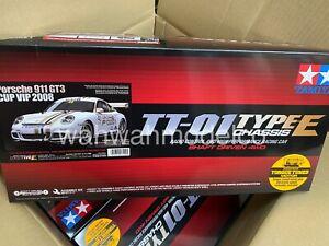 Tamiya 1/10 Porsche 911 GT3 CUP VIP 2008 TT-01 Type-E TAM 47429
