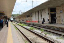 PHOTO  ITALY RAILWAY MESSINA STAZIONE CENTRALE INSIDE