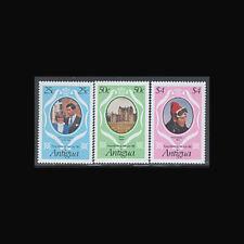 Antigua, Sc #623-25, MNH, 1981, Royalty, Diana, Charles, FRD-A