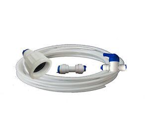 American Fridge Freezer Water Filter Connection Plumbing Kit with water pipe