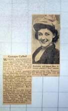 1949 Woman Hoodwinked Gestapo Greek Madame Lila Lalauni Infant Prodigy Pianist