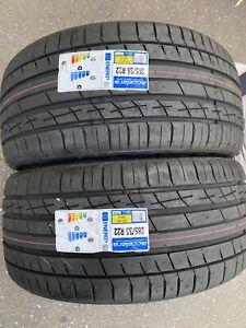 2x 285/35 R22 ACCELERA IOTA ST68  XL 106W SUV Brand-New