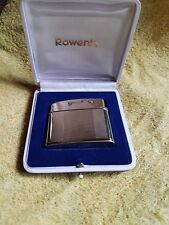 ROWENTA GAS-SNIP POCKET LIGHTER W. 8 KARAT/333 GOLD CASE - 1959-1970 - GERMANY