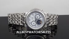 Citizen AP1011-58A Moon Phase Silver Tone 8651 Calibre Eco-Drive Men's Watch