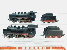 AZ668-1# 2x Märklin/Marklin H0/AC 3003 Locomotora de vapor 24 058: FM 809 etc.,