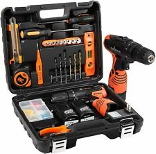 Letton Power Tools Set Combo Kit with 16.8V Cordless Power Drill Set and 24pcs
