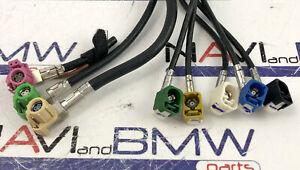 BMW NBT CIC EVO cut HSD cable USB AUX Display, Lan, camera, GPS, connectors wo