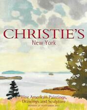 Christie's 1411 American Paintings Drawings & Sculpture Auction Catalog 2004