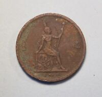 1905 1 Att Thailand Bronze World Coin King Rama V Chulalongkorn Siam Thai RS124