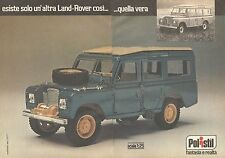 X0746 Polistil - Land Rover - Pubblicità del 1977 - Vintage advertising