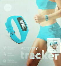 IJOY ACTIVITY TRACKER ~ DISTANCE & STEP COUNTER ~ CALORIE CALCULATION BLUE