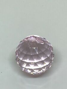 30mm Swarovski Strauss Pink Rosaline Crystal Ball Authentic for sun catcher