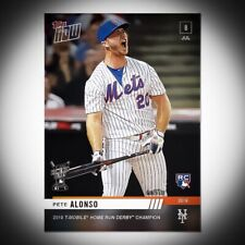 2019 TOPPS NOW #493 PETE ALONSO HOME RUB DERBY RC. FREE SHIPPING*